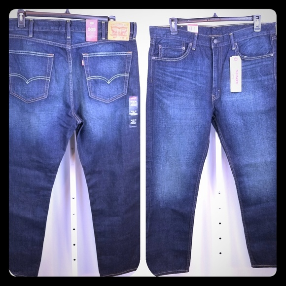 Levi's Other - Levi's 505 Regular Fit Straight Jeans